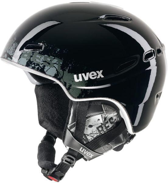 Uvex Hypersonic Pro black/anthracite shiny XS/S 53-56cm