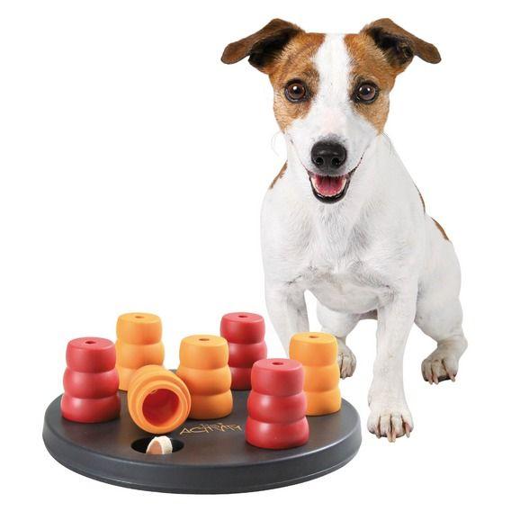 Trixie Dog Activity - MINI SOLITAIRE - kruh s kuželkami
