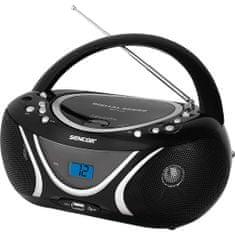 SENCOR SPT 227 CD-s rádió, Ezüst II.osztály