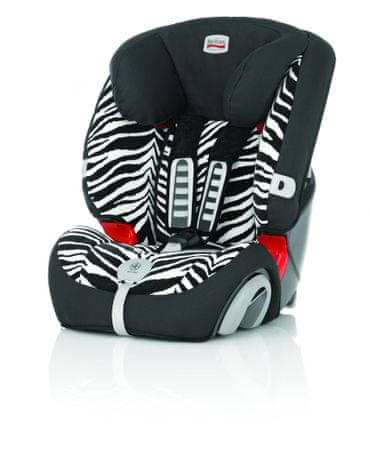 britax r mer evolva 123 plus smart zebra mall sk. Black Bedroom Furniture Sets. Home Design Ideas