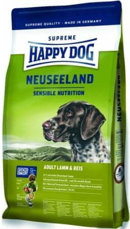 Happy Dog Supreme Neuseeland Kutyaeledel, 12,5 kg