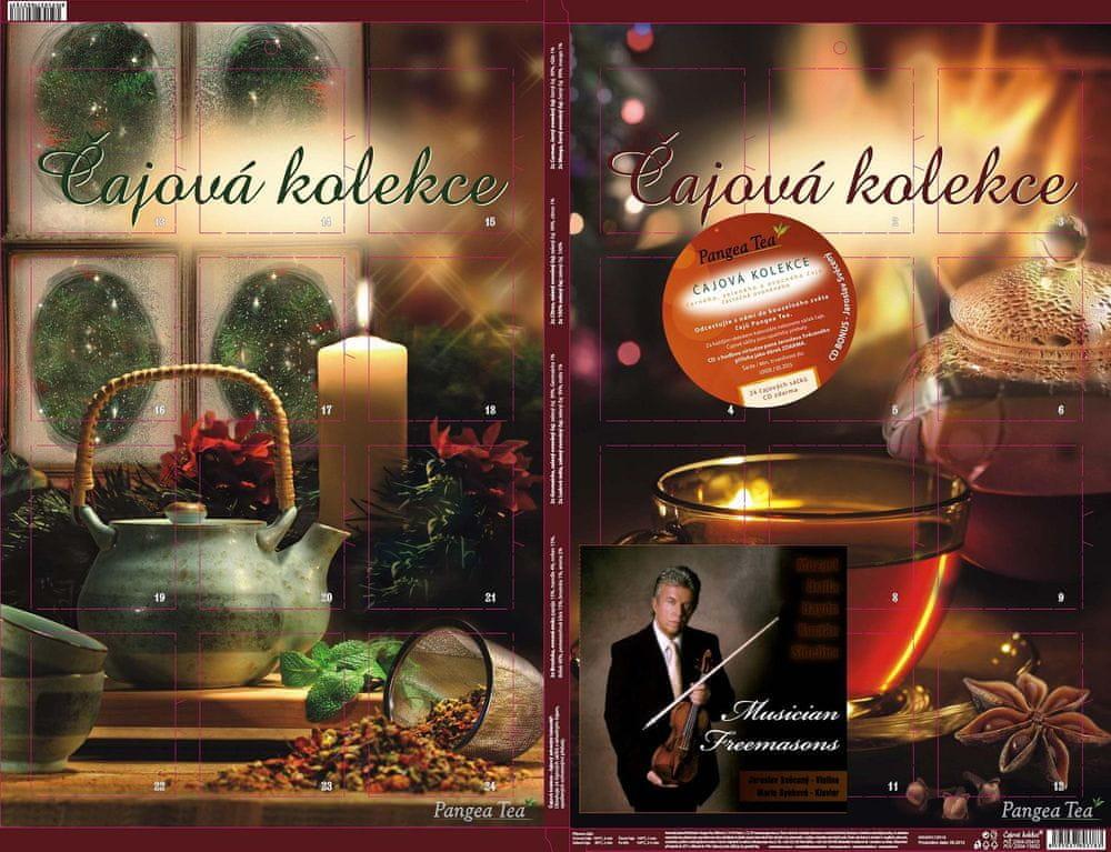cajovy adventni kalendar Pangea Tea Čajový adventný kalendár (A009cd | MALL.SK cajovy adventni kalendar