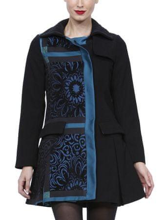 a8c80519823e Desigual Dreams Női kabát, Fekete / kék, 36 - További információ a ...
