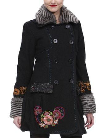 Desigual Escorpion Női kabát, Fekete, 38