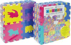 Teddies Puzzle piankowe 15x15, 36 elementów