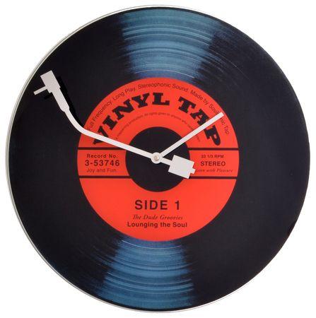NEXTIME Zegar Vinyl Tap
