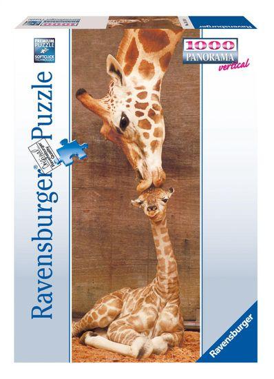 Ravensburger Puzzle 151158 První polibek 1000 dílků