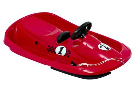Hamax bob za sankanje Sno Formel, rdeč