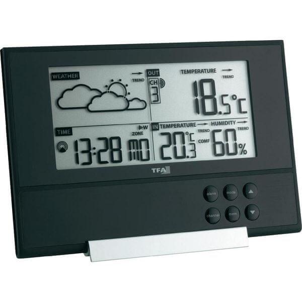 TFA Rádiová meteorologická stanice PURE Design NRG 2 (672209)
