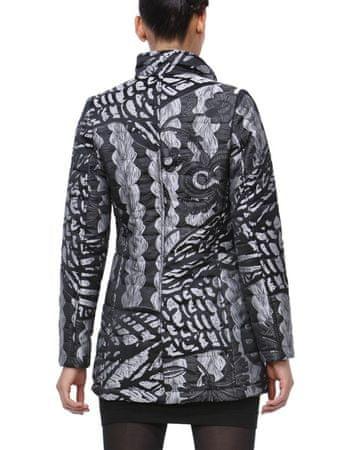 dad35092e0d3 Desigual Lady Liberty Női kabát, Fekete/ezüst, 42 | MALL.HU