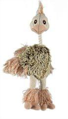 Trixie Plyšový pštros s dlhým perím 35 cm