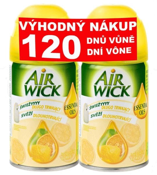 Air wick Freshmatic Max Náhradní náplň Citrus 2 x 250 ml