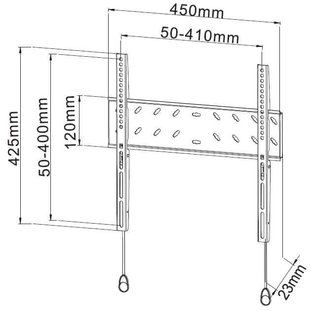 Stell SHO 2020 SLIM (fixní držák)