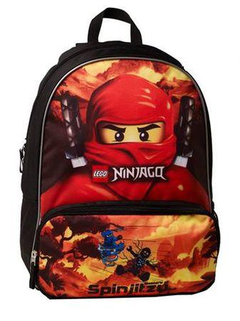 2600b30e0a2 LEGO Školní batoh LEGO NINJAGO RED - Parametry
