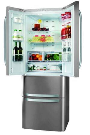 Hotpoint E4D AAA X C Kombinált hűtőszekrény, 402 L, A++