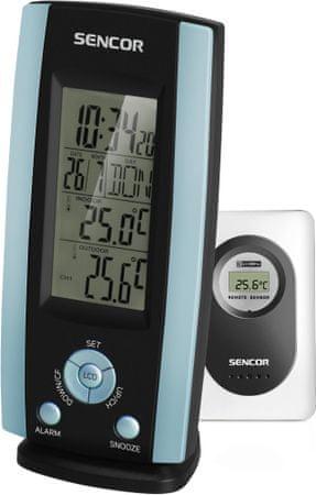 SENCOR termometr z czujnikiem SWS 21 - niebieski