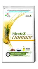 TRAINER Fitness 3 suha hrana za odrasle pse Medium-Maxi Duck & Rice, 12,5 kg
