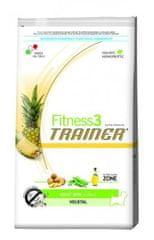 TRAINER Fitness 3 suha hrana za odrasle pse Mini Vegetal, 7,5 kg
