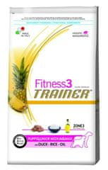 TRAINER FITNESS3 Puppy&Junior Medium/Maxi Duck& Rice 12,5kg