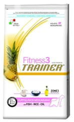TRAINER FITNESS 3 Medium/Maxi Puppy&Junior Fish & rice 12,5kg