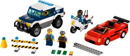 LEGO® City 60007 Hitro zasledovanje