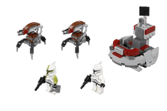 LEGO Star Wars 75000 Clone Trooper vs. Droidekas