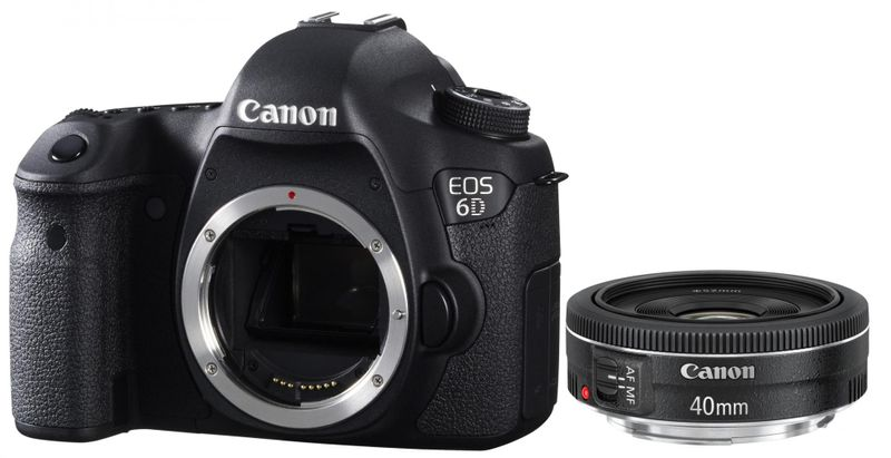 Canon EOS 6D + 40 EF STM