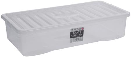 WHAM škatla za shranjevanje, 42 l, bela