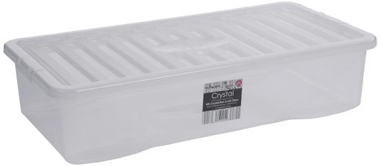 WHAM škatla za shranjevanje, 42 l, bela - Odprta embalaža