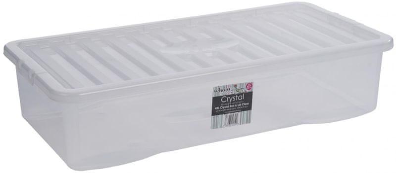 WHAM Box s víkem 11310 42L, bílá