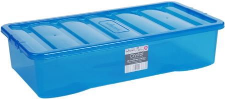 WHAM škatla za shranjevanje, 42 l, modra