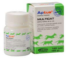 Aptus Multicat Vet Vitamin tabletta, 120 db