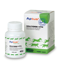 Aptus Multidog Vita Vet Étrendkiegészítő, 100 db