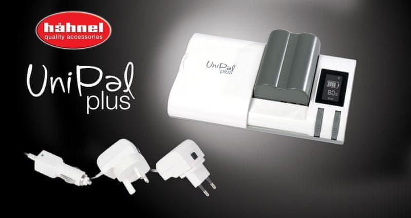 Hähnel UniPal PLUS univerzální nabíječka