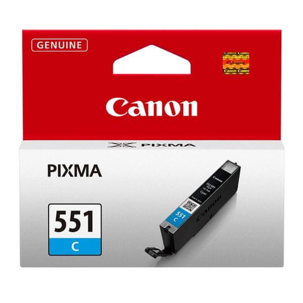 Canon CLI-551C (6509B001), azurová