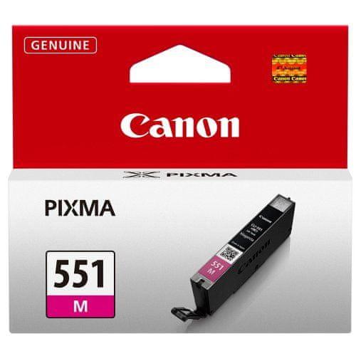 Canon CLI-551M (6510B001), purpurová