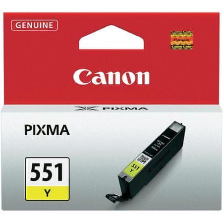 Canon CLI-551Y (6511B001), žlutá
