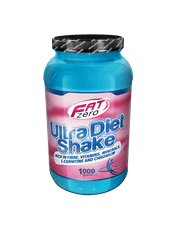 Fat Zero Ultra Diet Shake 1000g jahoda