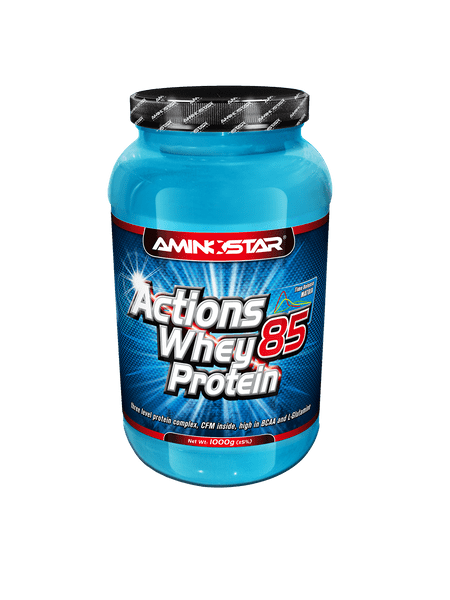 Aminostar Whey Protein Actions 85% 1000g -čokoláda