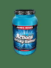 Aminostar Whey Gainer Actions 1000g - čokoláda