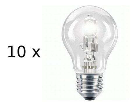 Philips Żarówki Ecoclassic A55 E27 42W zestaw 10 szt