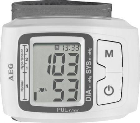 AEG zapestni merilnik tlaka BMG5610