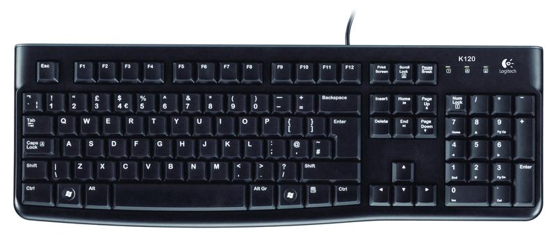 Logitech Klávesnice K120 SK verze (920-002497)