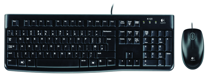 Logitech Desktop MK120 CZ verze (920-002536)