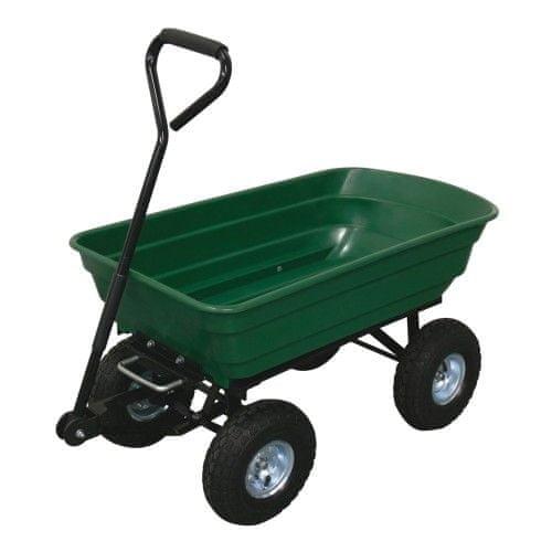 M.A.T Group Vozík zahradní sklápěcí 125 l