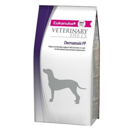 Eukanuba veterinarska dieta za pse z občutljivo kožo Dermatosis, 5 kg