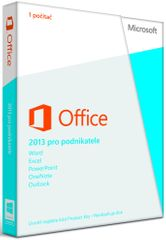 Microsoft Office Home and Business 2013, 32/64-bit. Cz