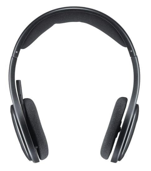 Logitech H800 brezžične slušalke, črne