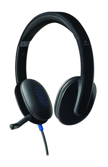 Logitech H540 slušalke z mikrofonom