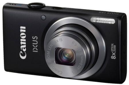 CANON IXUS 135 Digitális fényképezőgép, Fekete